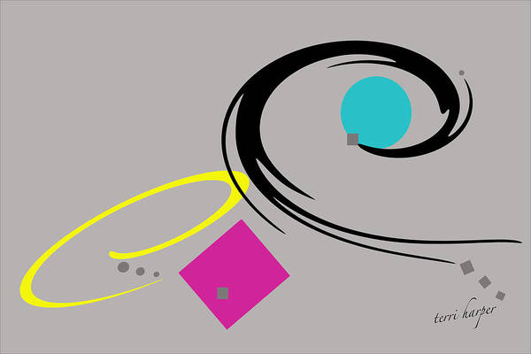 Randomness Variations 2 Art Print