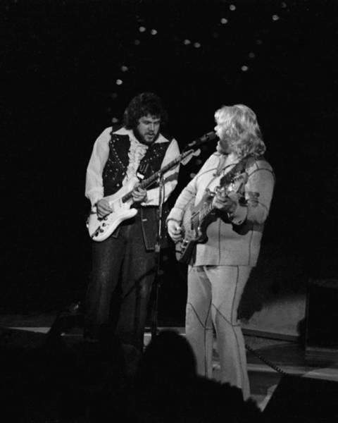 Photograph - Randy And Fred Take Care Of Business In Spokane In September 1976 by Ben Upham