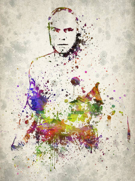 Wall Art - Digital Art - Randy Couture by Aged Pixel