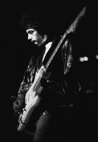 Photograph - Randy Hansen In The Moment 1978 by Ben Upham