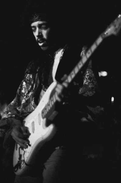Photograph - Randy Hansen Live On The 3rd Stone From The Sun 1978 by Ben Upham