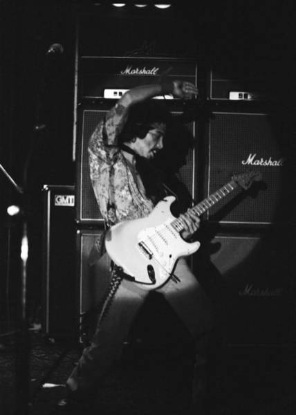 Photograph - Randy Hansen Playing For Jimi 1978 by Ben Upham