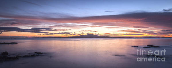 Auckland Photograph - Rangitoto Before Dawn Auckland New Zealand by Colin and Linda McKie