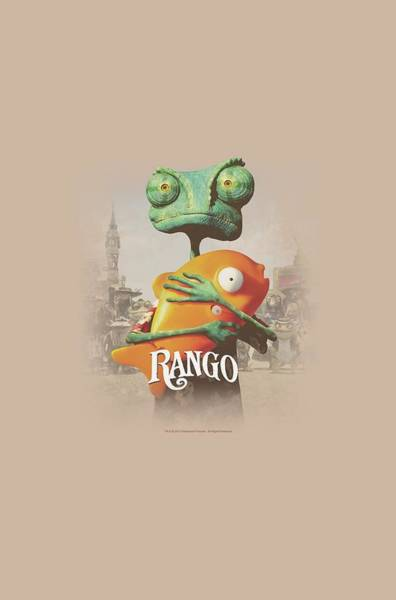Animated Digital Art - Rango - Poster Art by Brand A