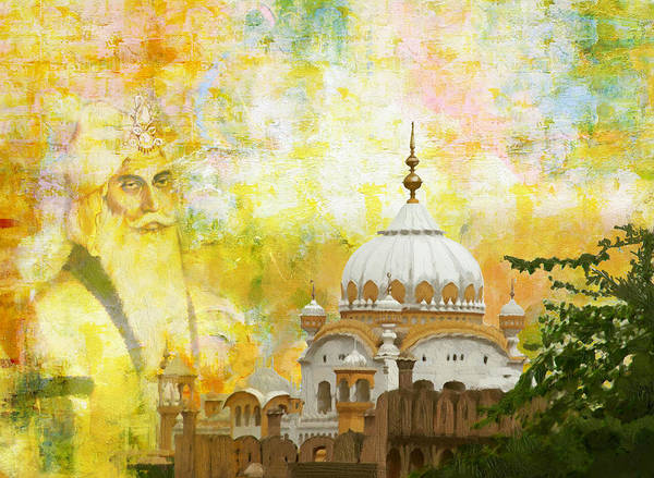 Wall Art - Painting - Ranjit Singh's Samadhi by Catf