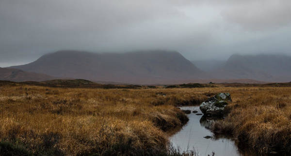 Moored Photograph - Rannoch Moor, Glencoe, Scotland by Saving Memories, One Pic At A Time