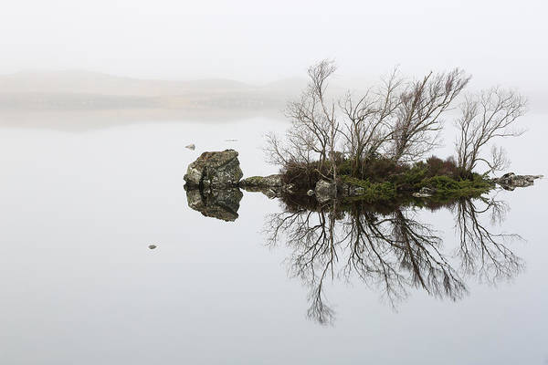 Photograph - Rannoch Moor Mist by Grant Glendinning