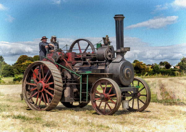 Photograph - Ransomes Steam Engine by Paul Gulliver