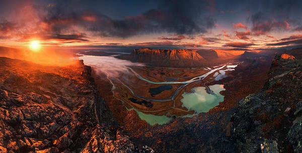 Vista Photograph - Rapa River Delta by Karol Nienartowicz