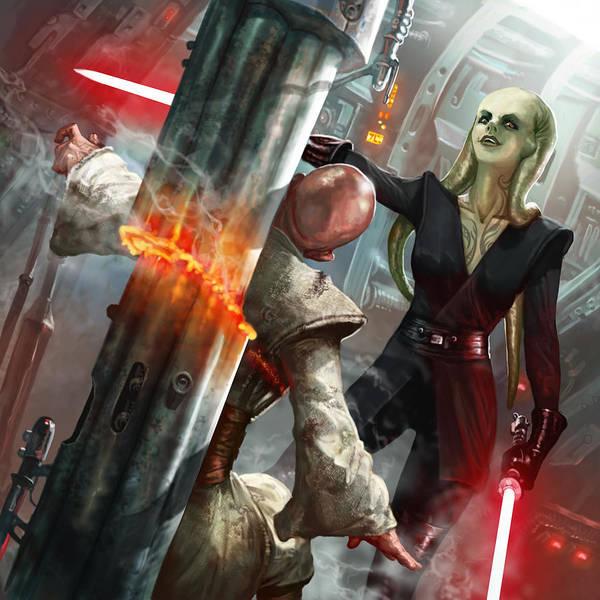 Jedi Digital Art - Rapacious Malice by Ryan Barger