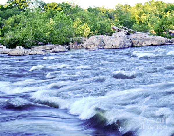 Wall Art - Photograph - Rappahanock Rapids by Leslie Cruz