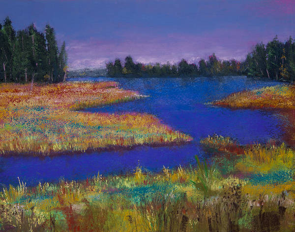 Wall Art - Painting - Raquette Lake by David Patterson