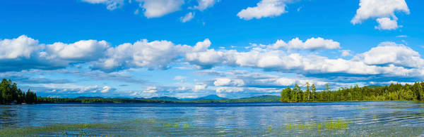 Peacefulness Photograph - Raquette Lake In The Adirondack by Panoramic Images