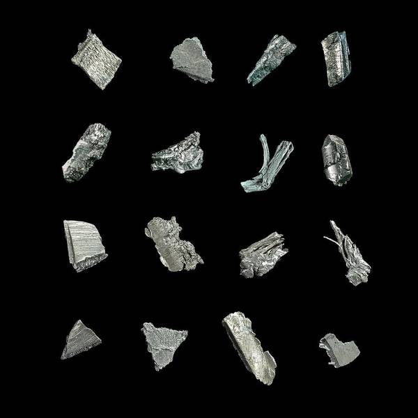 Rare Earth Wall Art - Photograph - Rare Earth Elements by Science Photo Library