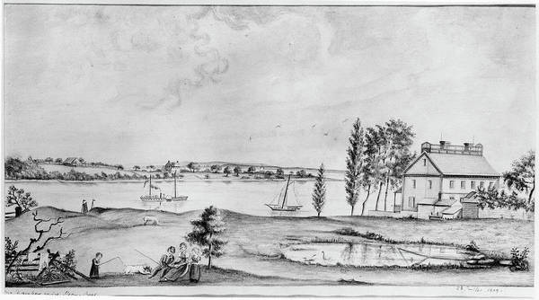 Drawing - Raritan River, 1809 by Granger