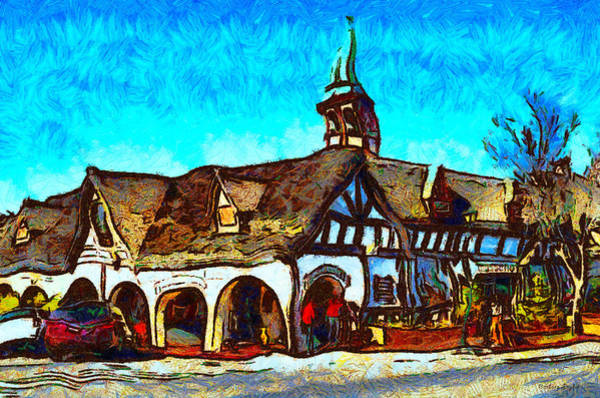 Solvang Photograph - Rasmussens Gift Store Solvang California by Barbara Snyder