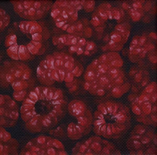 Wall Art - Painting - Raspberries by Natasha Denger