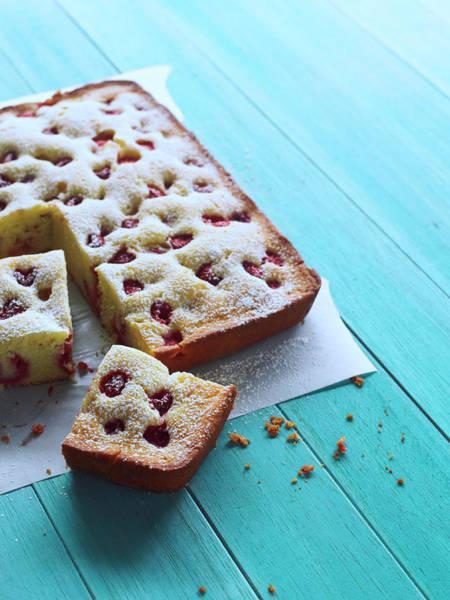 Lemon Photograph - Raspberry Lemon Cake by Iain Bagwell