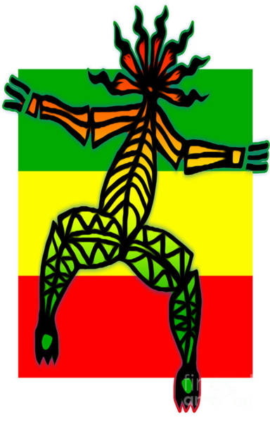 Painting - Rastaman by Gregory Dyer