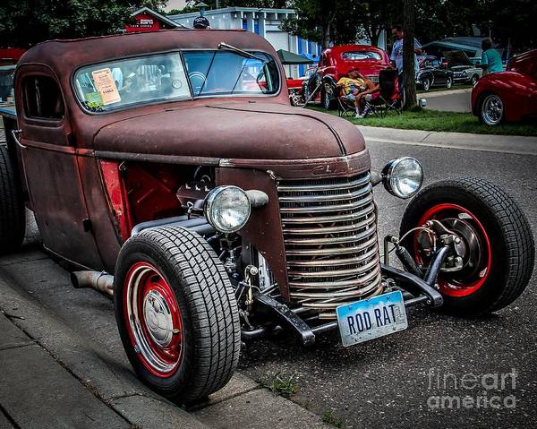 Street Rods Photograph - Rat Rodder by Perry Webster