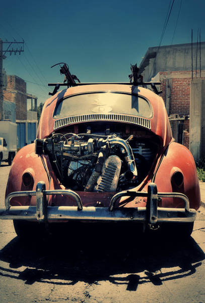 Zacatecas Photograph - Rat Turbo Vw Bug by Rene Ranachilanga Ortega