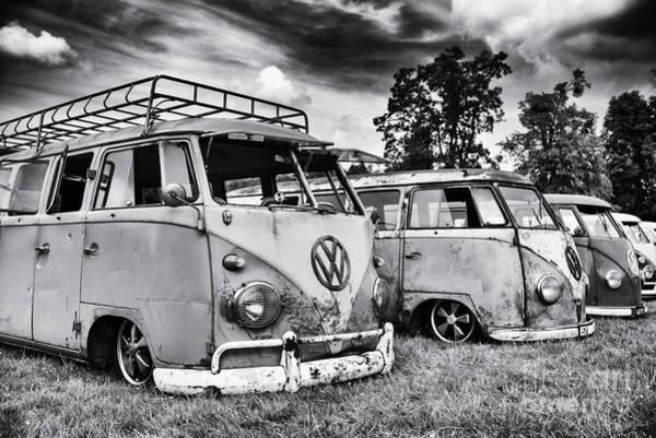 Motorhome Wall Art - Photograph - Rat Vans by Tim Gainey