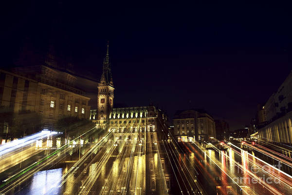 Rathaus Photograph - Rathaus Color Explosion by John Rizzuto