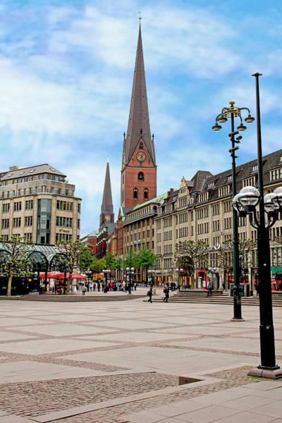Rathaus Photograph - Rathaus Market Platz Square And St by Miva Stock