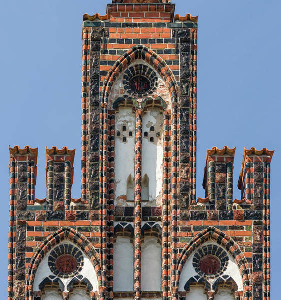 Strasse Photograph - Ratschow Haus Rostock Germany by Martin Zwick