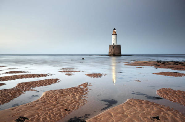 Photograph - Rattray Head Lighthouse  by Grant Glendinning
