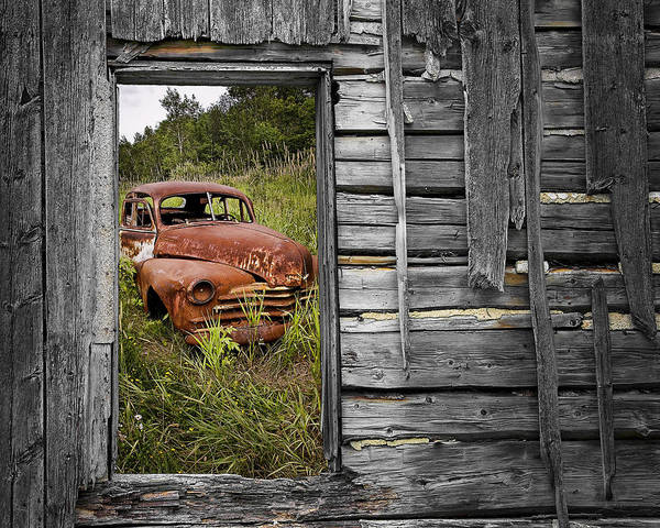 Photograph - Ravages Of Time by Randall Nyhof