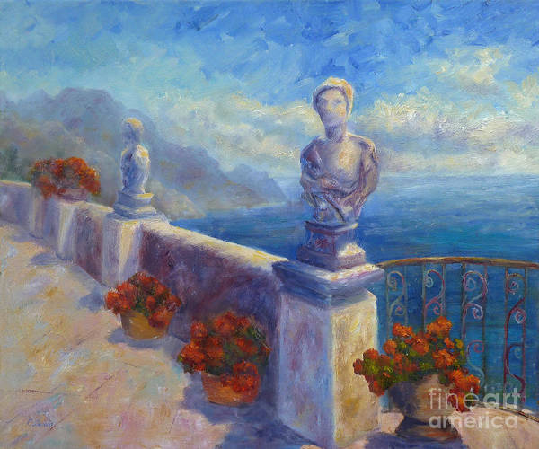 Painting - Ravello View by Carolyn Jarvis