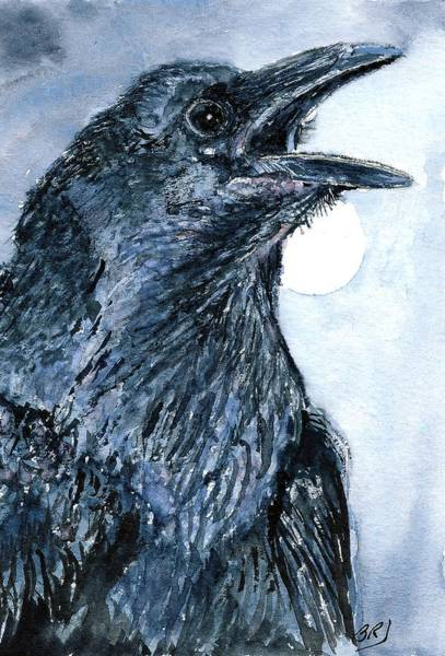 Painting - Raven by Barry Jones