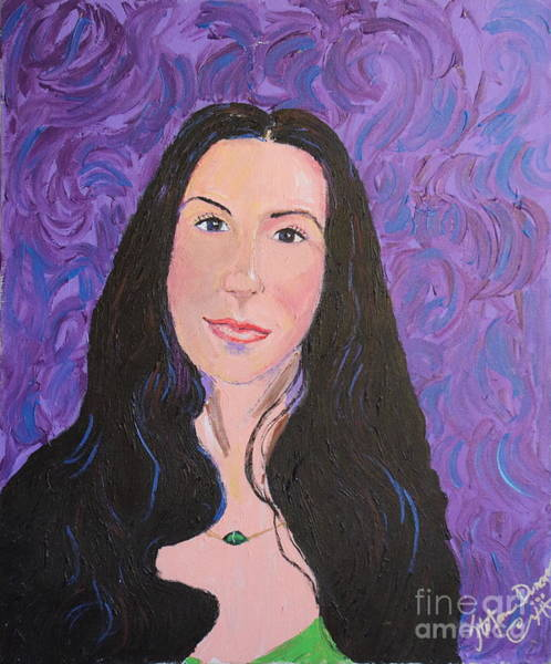 Painting - Raven Hair by Stefan Duncan