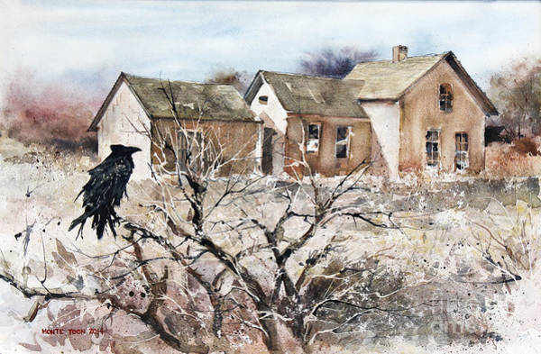 Painting - Raven Roost by Monte Toon