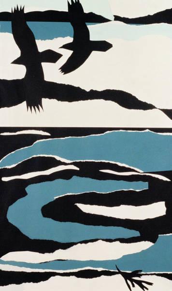 Representation Painting - Ravens by John Wallington