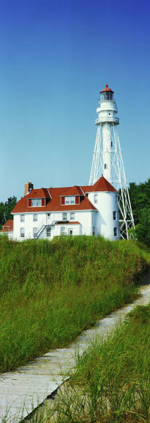 Wall Art - Photograph - Rawley Point Lighthouse At Point Beach by Panoramic Images