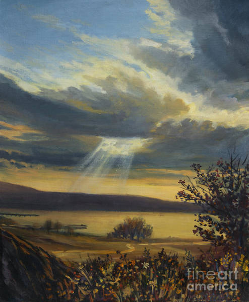 Wall Art - Painting - Ray Of Light by Kiril Stanchev