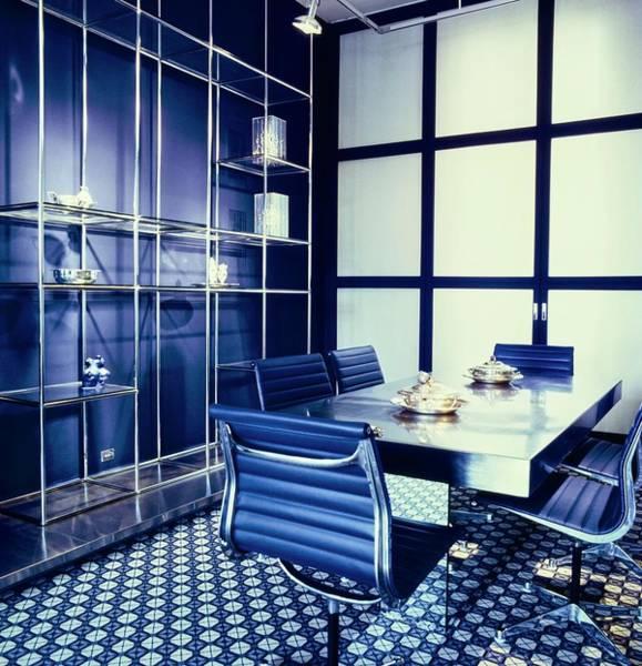 Wall Art - Photograph - Raymonde Zehnacker's Dining Room by Horst P. Horst