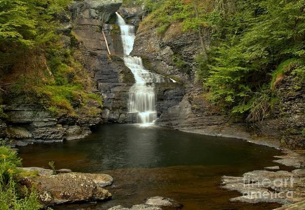 Photograph - Raymondskill Falls by Adam Jewell