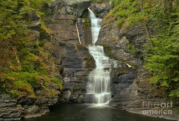 Photograph - Raymondskill Falls Landscape by Adam Jewell