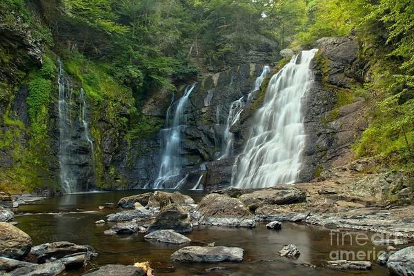 Photograph - Raymondskill Waterfall Canyon by Adam Jewell