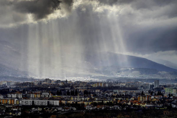 Photograph - Rays Of Hope by Ivan Slosar