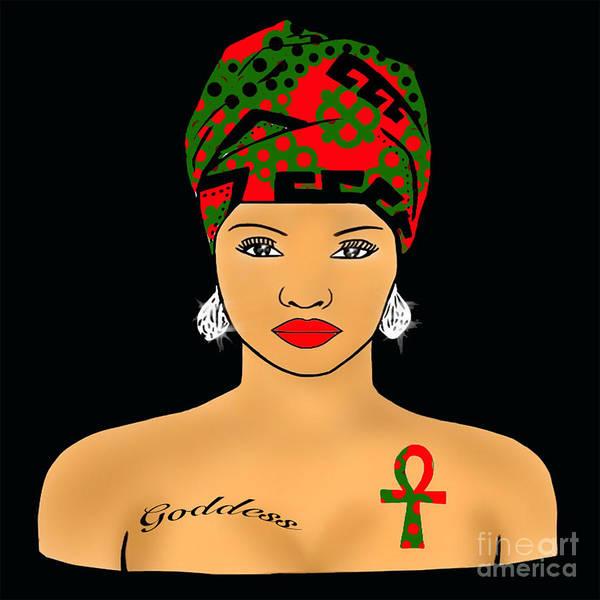 Respect Digital Art - Rbg Nubian Goddess  by Respect the Queen