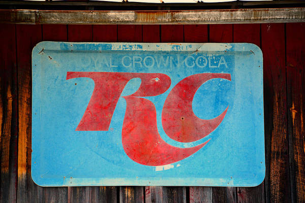 Wall Art - Photograph - Royal Crown Cola by David Lee Thompson