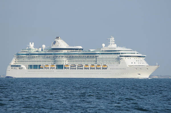 Photograph - Rci Radiance Of The Seas by Bradford Martin