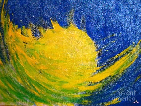 Painting - Reach For The Moon by Ilona Svetluska