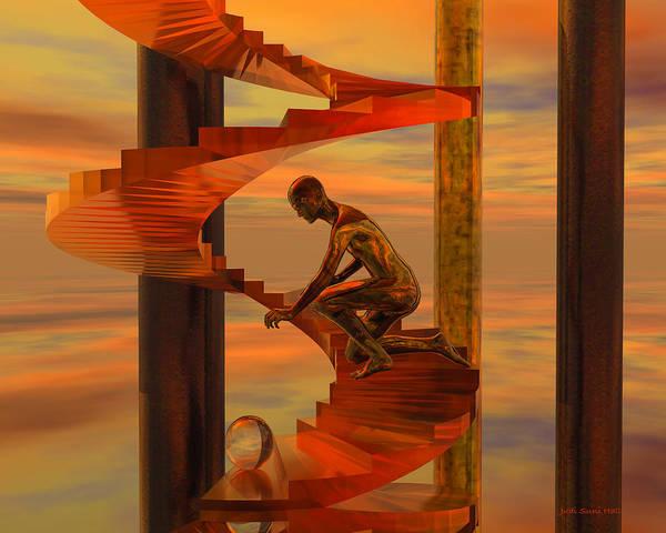 Digital Art - Reach by Judi Suni Hall