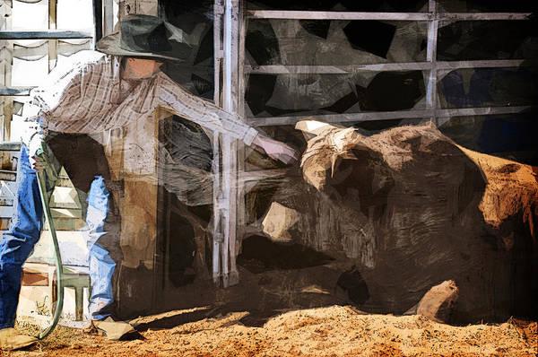 Dairy Barn Digital Art - Reaching Out by Davina Washington