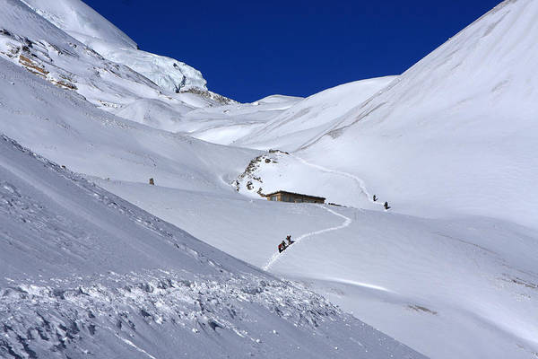Photograph - Thorong La Pass, Annapurna Circuit Trail, Nepal by Aidan Moran